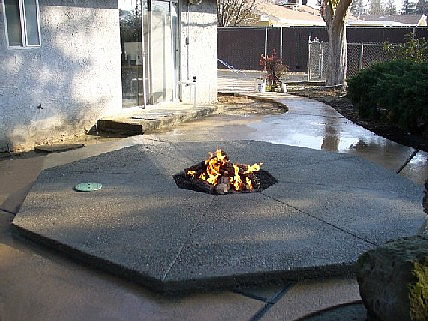 Custom Fire Pit By Agape