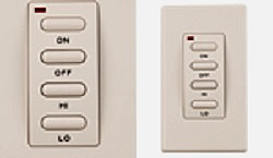 Wireless Wall Switch included