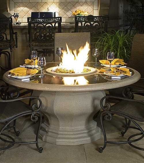 Dining Fire Table