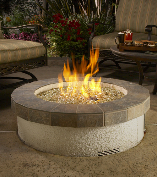 The Patio Flame - Stainless Steel Fire Pit